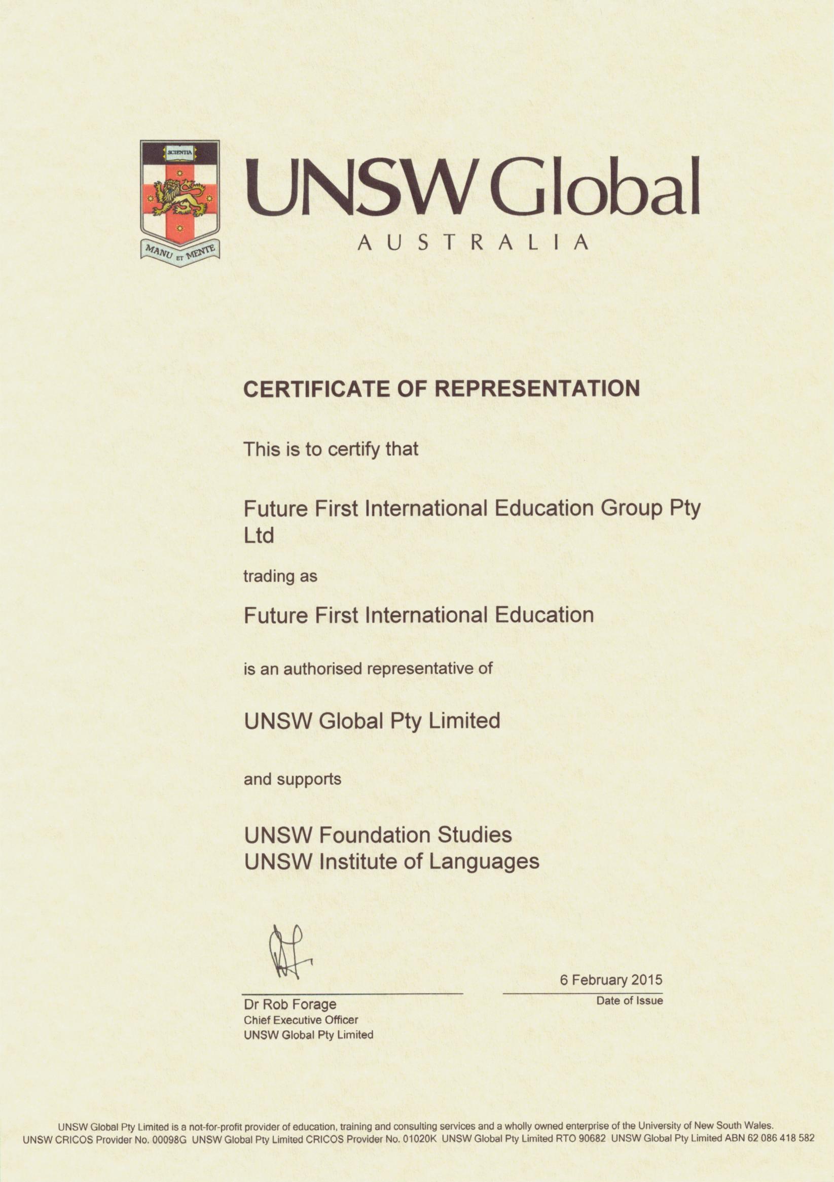 UNSW Global